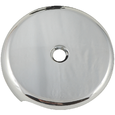 *TUB FACE PLATE TWO HOLE CP