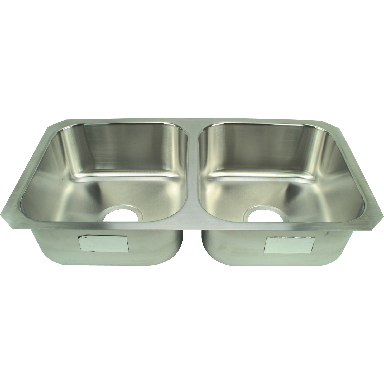 **STERLING UNDERMT DBL BOWL SS S