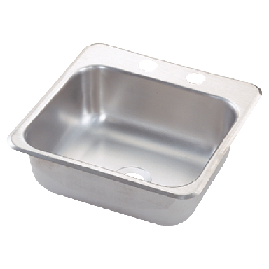 STAINLESS STEEL BAR SINK 5-1/2i