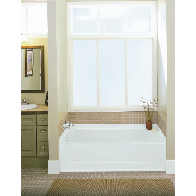 **STERLING ALL PRO TUB LH WHITE
