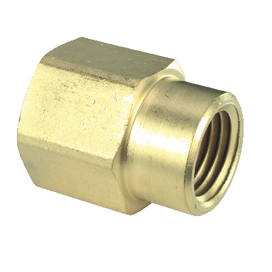 **BRASS COUPLING 1/4 X 1/8 LF