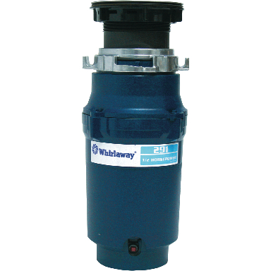**WHIRLAWAY DISPOSER 1/2 HP
