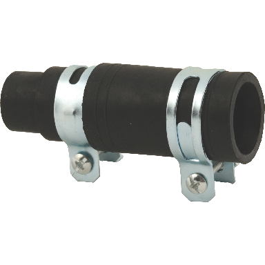 RUBBER DISPOSER BOOT W/2 CLMPS
