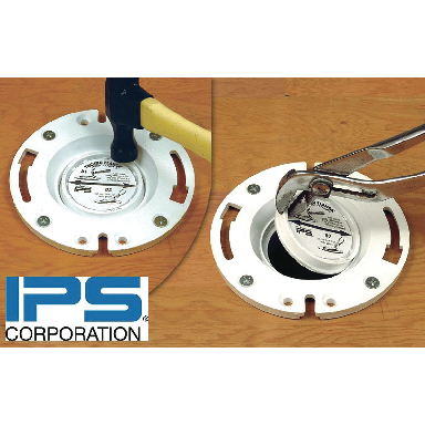 **PVC Techno Flange with KO