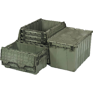 ATTACHED TOP CONTAINER GREY
