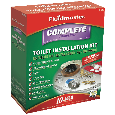 TOILET INSTALLATION KIT (W/ BOLT
