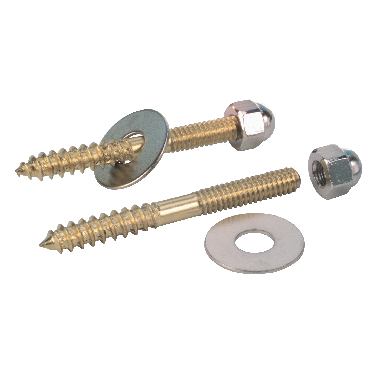 *CLOSET SCREWS BP 1/4X3-1/2