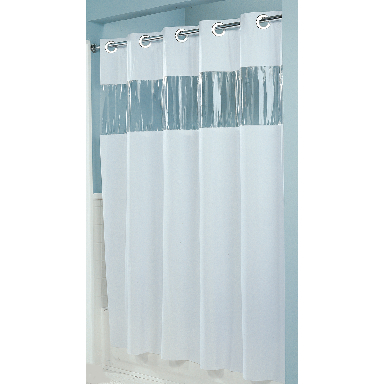 **Mystery Shwr Curtain WH