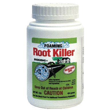 *FOAMING ROOT KILLER