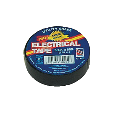 **ELECTRICAL TAPE VINYL 3/4 X 6