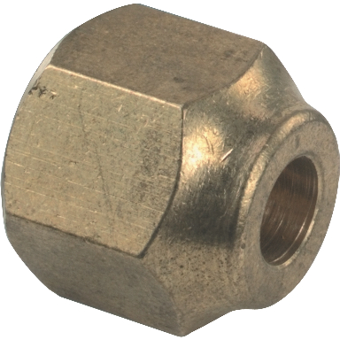 **BRASS FORGED FLARE NUT 1/2