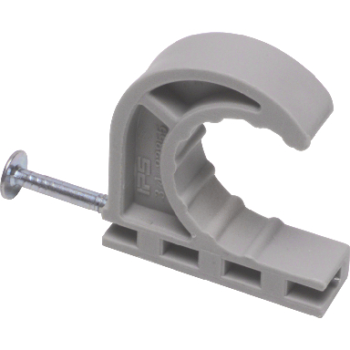 **PLASTIC HALF CLAMP 1/2