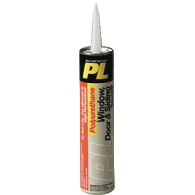 10OZ PL DOOR & WINDOW SEALANT WH