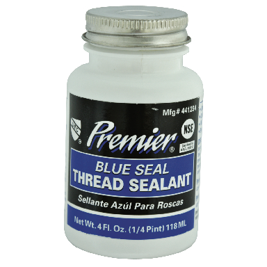 **PREMIER-BLUE THREAD SEAL,1/4 P