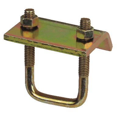 **BEAM CLAMP W/U-BOLT-GOLD GALV