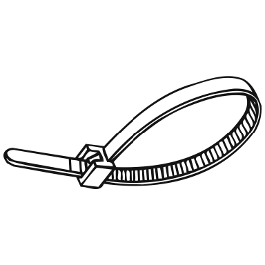 CABLE TIE NAT 32IN / 50'