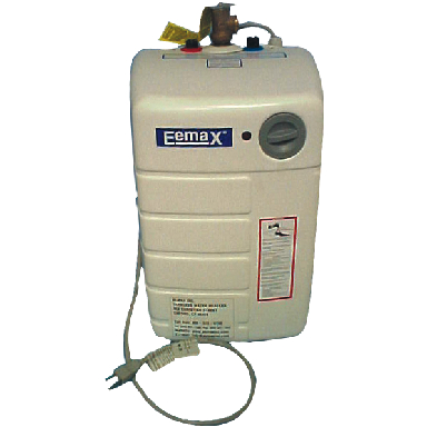 EEMAX WATER HEATER MINI TANK 120V 2.5 GAL LEAD FREE