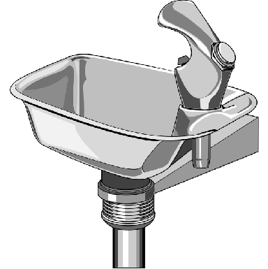 *BRACKET DRINKING FOUNTAIN