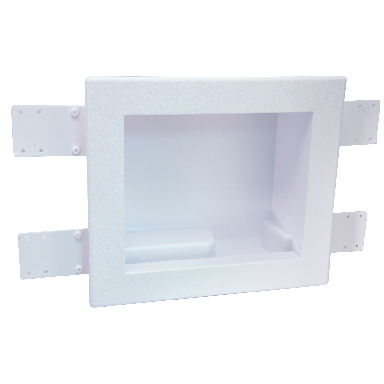 WASHER OUTLET BOX W/DRAIN
