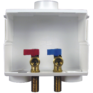 **DUAL DRAIN WASHER BOX W/PEX VA