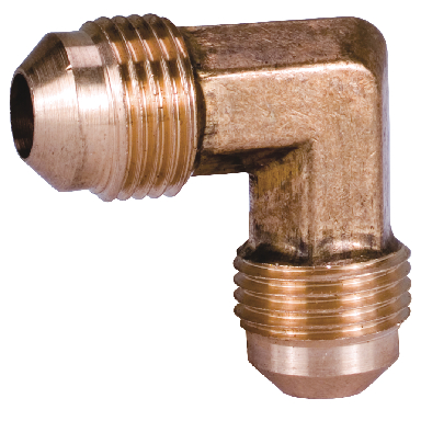 *BRASS FLARE ELBOW 1/2