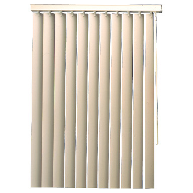 **104x84 PVC VERTICAL BLINDS W/V