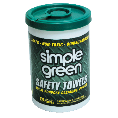 **75 Count Safety Towel Canister