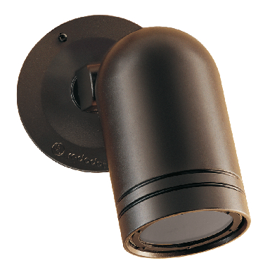 **WALL SPOT LIGHT W/COVER,BRONZE