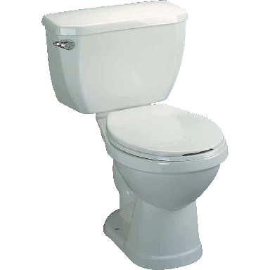 **ELONGATED TOILET IN A BOX-WHT