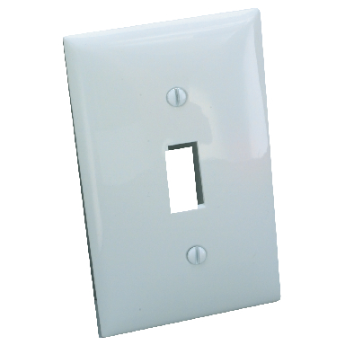 **1 GANG SWITCH PLATE ALMOND