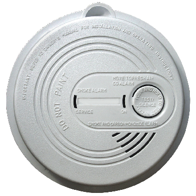 **9V DC ION SMOKE & CO ALARM 1PK