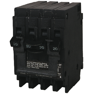 NEW SIEMENS 30/20A QUAD BREAKER
