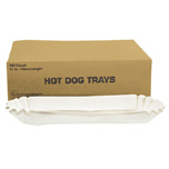 HOT DOG TRAY MED PPR 6/500