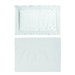 SCALLOP PLACEMAT 9-3/4X14 1000