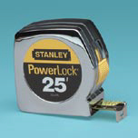 POWERLOCK TOOL 25FT W/ BELT CLIP CHRM 4