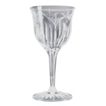 LEGACY WINE GLASS 6OZ 2PC PLAS CLE 12/10