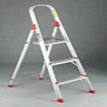 EURO PLATFORM LADDER 3 FT ALUM