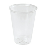 CUP PLS PET 10OZ CLR 1000/CS
