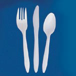 STYLESETTER SILVERWARE KNF PLAS WHI 1000