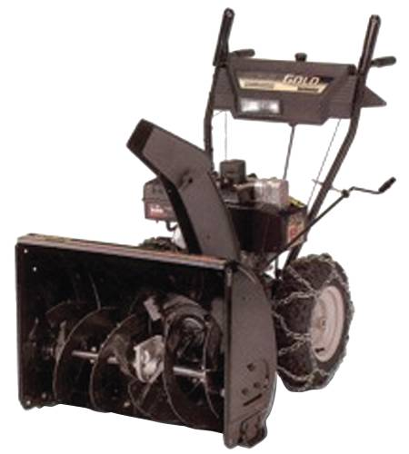 MTD GOLD SNOW THROWER 10 HP 28 IN. CLEARING