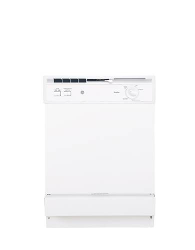 GE SPACEMAKER UNDERSINK DISHWASHER WHITE