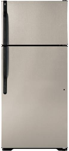 GE REFRIGERATOR TOP FREEZER 16.6 CU. FT. STAINLESS STEEL