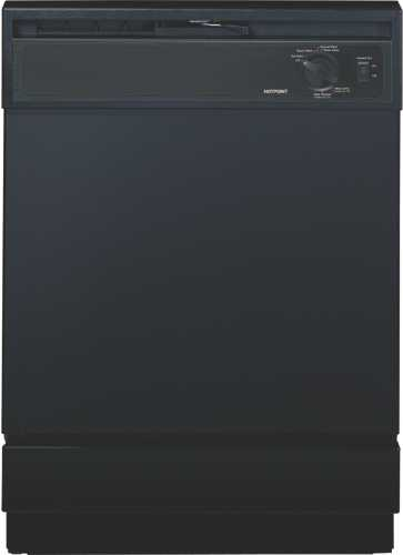 HOTPOINT DISHWASHER BUILT-IN ENERGY-STAR BLACK