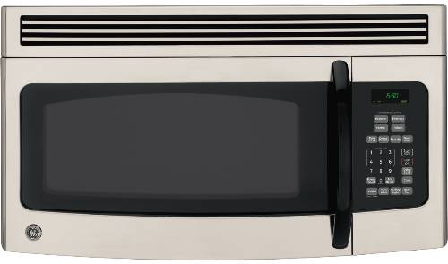 GE SPACEMAKER MICROWAVE OVEN OVER-THE-RANGE STAINLESS STEEL