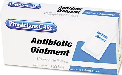 ANTIBIOTIC OINTMENT, REFILL, 10 TUBES/BOX