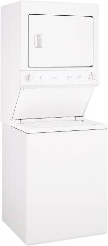 GE UNITIZED SPACEMAKER WASHER/DRYER ELECTRIC 27""