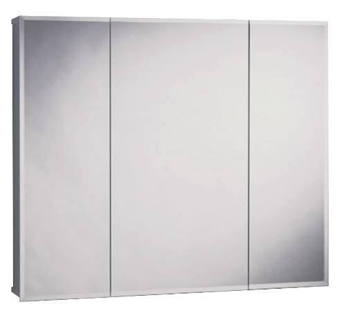 BEVELED TRIVIEW MEDICINE CABINET 24 IN.