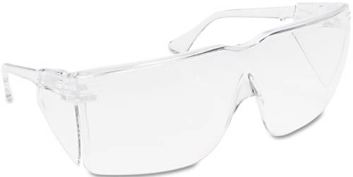 3M TOUR-GUARD III WRAPAROUND SAFETY GLASSES, CLEAR POLYCARBONATE