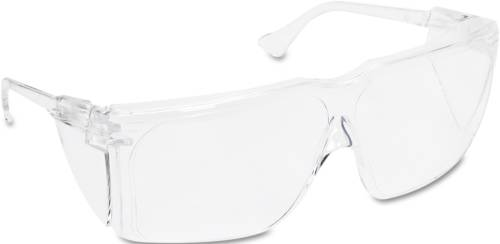 3M TOUR GUARD III SAFETY GLASSES, SMALL, CLEAR FRAME/LENS, 10/BO