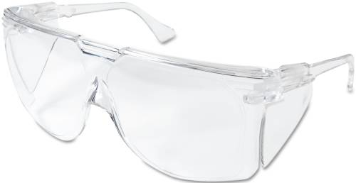 3M TOUR GUARD III SAFETY GLASSES, CLEAR FRAME/LENS, 20/BOX